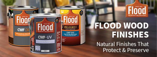 Flood Wood Finishes