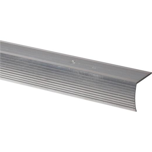 Do it Satin Silver 1-1/8 In. W x 72 In. L Aluminum Stairnose