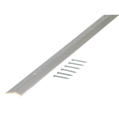 M-D Polished Smooth 7/8 In. x 3 Ft. Aluminum Carpet Trim Bar