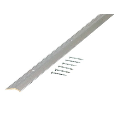 M-D Polished Smooth 7/8 In. x 6 Ft. Aluminum Carpet Trim Bar