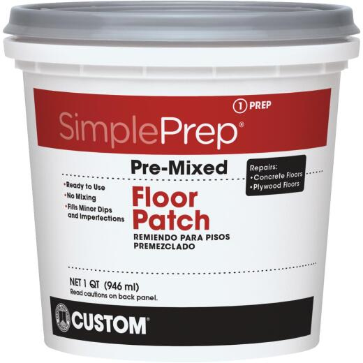 SimplePrep Pre-Mixed Floor Patch, Gray, 1 Qt.