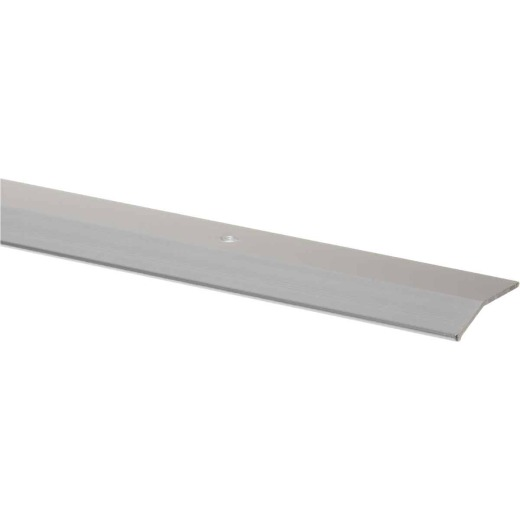 M-D Polished Smooth 1-3/8 In. x 3 Ft. Aluminum Carpet Trim Bar, Wide