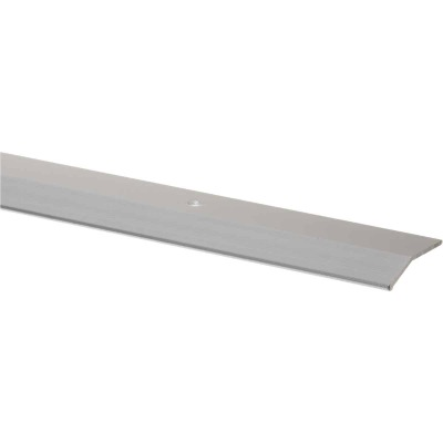 M-D Polished Smooth 1-3/8 In. x 6 Ft. Aluminum Carpet Trim Bar, Wide