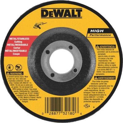 DeWalt HP Type 27, 5 In. Cut-Off Wheel