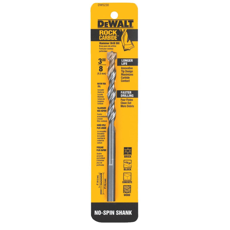 DeWalt 3/8 In. x 6 In. Masonry Drill Bit Image 3
