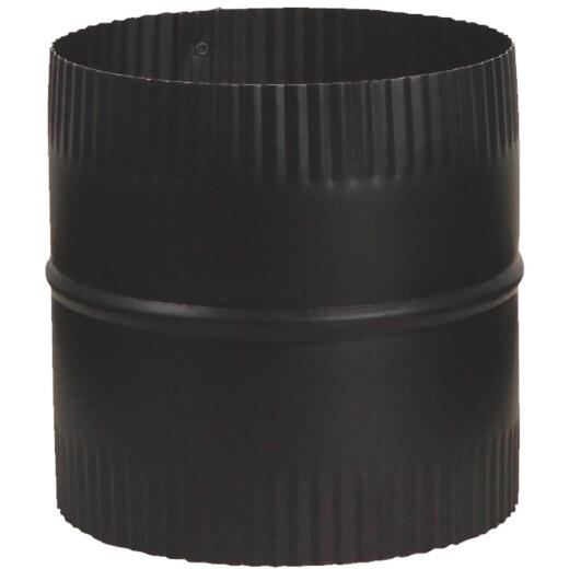 Imperial 6 In. x 4 In. 1200 F 24 ga Black Connector