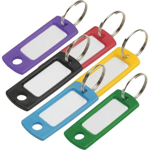 Lucky Line Flexible Plastic Tag 2 In. I.D Key Tag