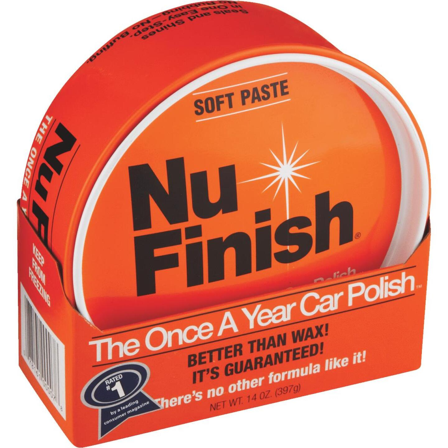 Nu Finish 14 oz Paste Car Wax Image 1