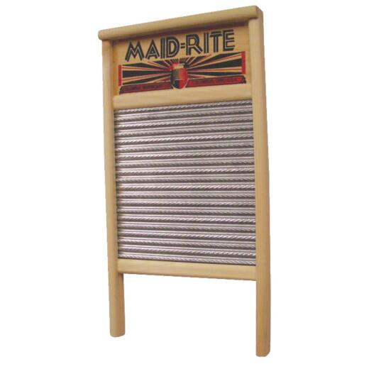 Columbus Maid-Rite 12-7/16 In. x 23-3/4 In. Family Size Washboard