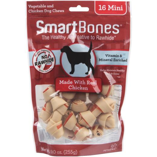 SmartBone Mini Chicken Chew Bone (16-Pack)