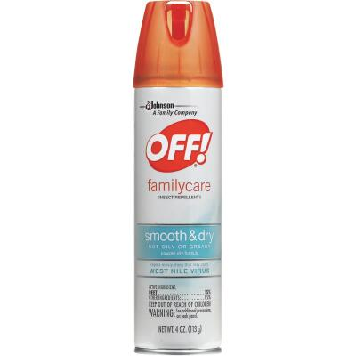 Off Family Care 4 Oz. Dry Insect Repellent Aerosol Spray