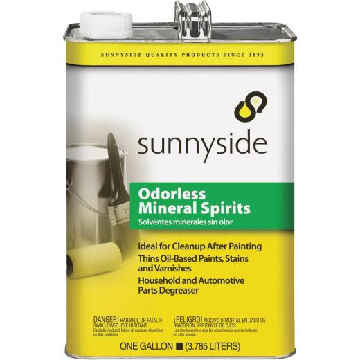 Sunnyside 1 Gallon Low VOC Mineral Spirits