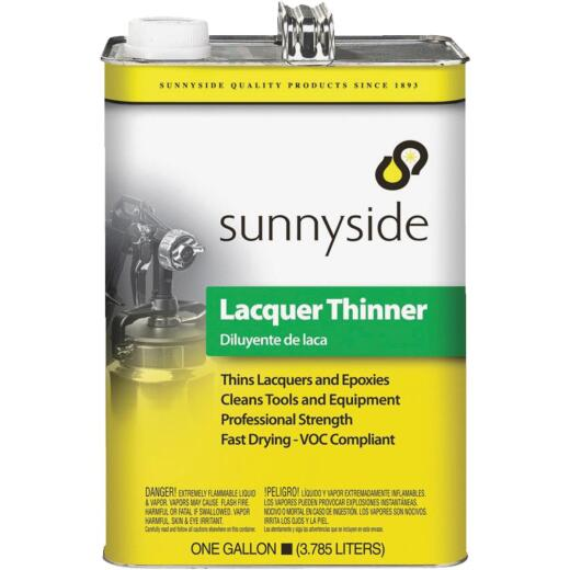 Sunnyside Low VOC Lacquer Thinner, Gallon