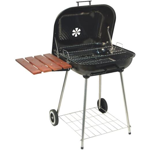 Kay Home Products 21.5 In. L. x 21.5 In. D. Black Charcoal Grill