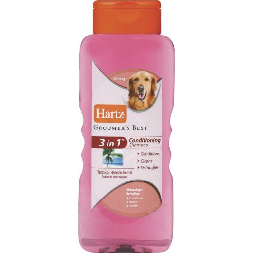 Hartz Groomer's Best 18 Oz. Tropical Breeze Scent 3-In-1 Dog Conditioning Shampoo