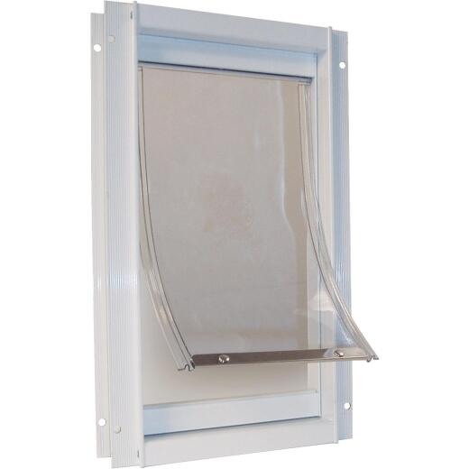 Ideal Pet 5 In. x 7 In. Small Plastic White Pet Door